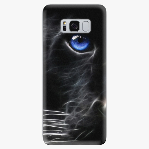 Plastový kryt iSaprio - Black Puma - Samsung Galaxy S8 Plus