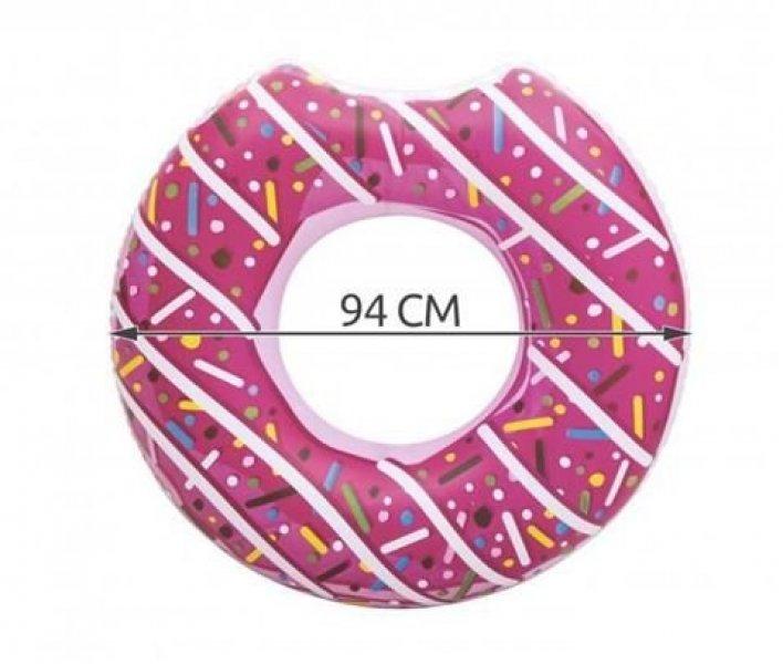 Nafukovací kruh Donut - light verze - čokoládová