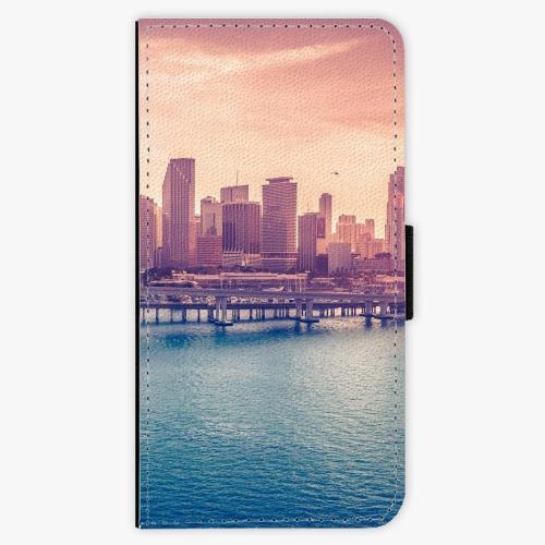 Flipové pouzdro iSaprio - Morning in a City - Huawei P9