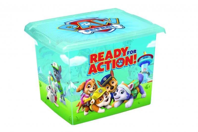 Box na hračky, dekorační Paw Patrol - 20,5 l