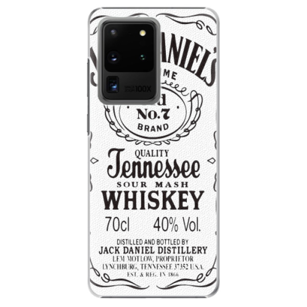 Plastové pouzdro iSaprio - Jack White - Samsung Galaxy S20 Ultra