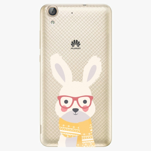 Plastový kryt iSaprio - Smart Rabbit - Huawei Y6 II
