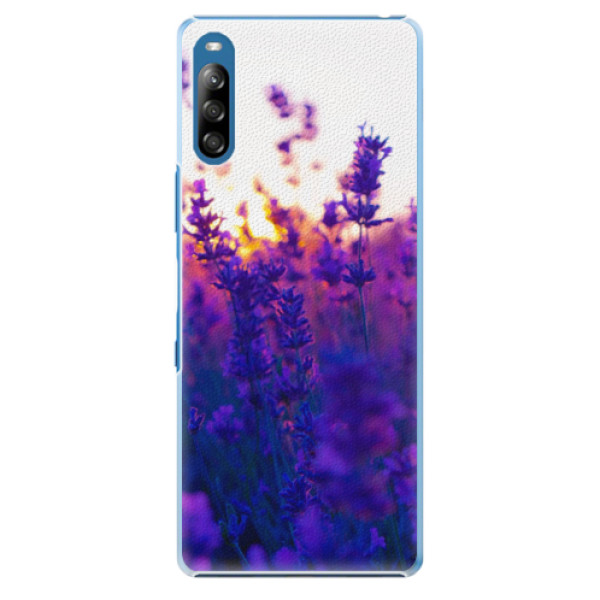 Plastové pouzdro iSaprio - Lavender Field - Sony Xperia L4
