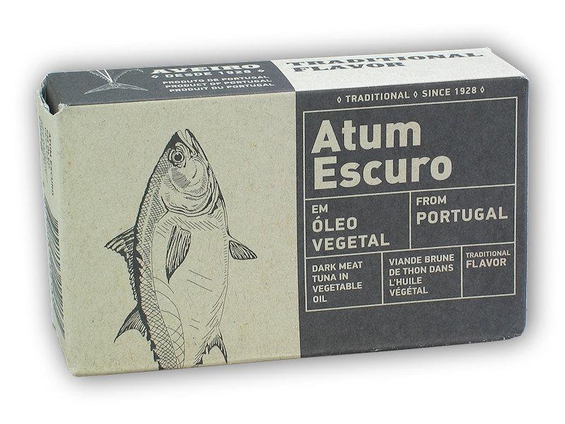 Tmavé maso z tuňáka v rostliném oleji 120g