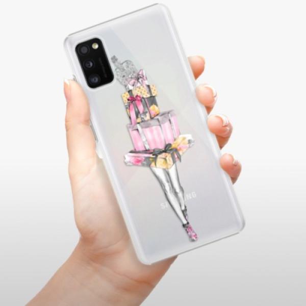 Plastové pouzdro iSaprio - Queen of Shopping - Samsung Galaxy A41