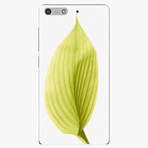 Plastový kryt iSaprio - Green Leaf - Huawei Ascend P7 Mini