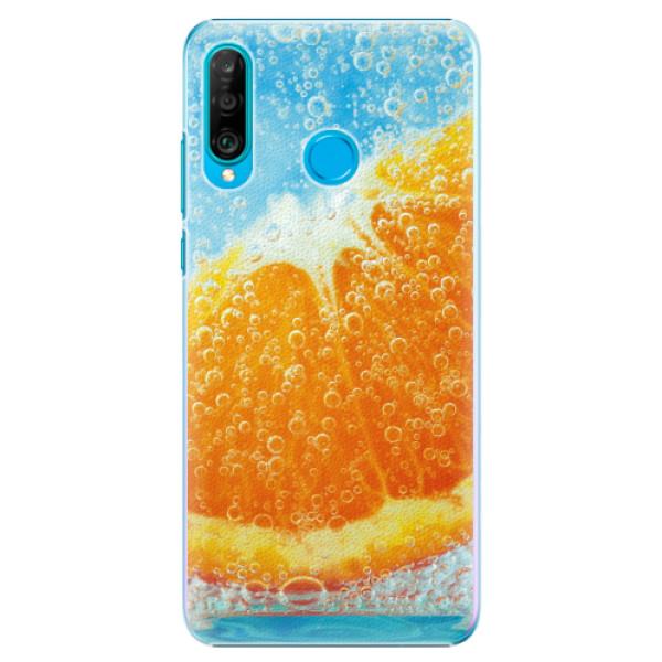 Plastové pouzdro iSaprio - Orange Water - Huawei P30 Lite