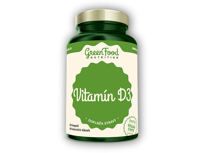 Vitamin D3 60 vegan kapslí