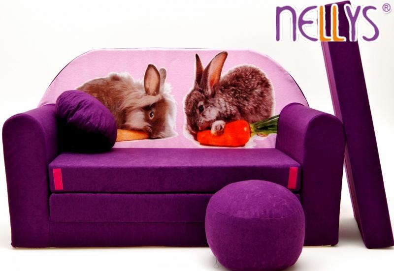 nellys-rozkladaci-detska-pohovka-56r-zajicci-ve-fialove