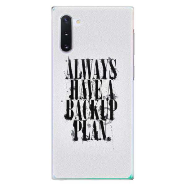 Plastové pouzdro iSaprio - Backup Plan - Samsung Galaxy Note 10