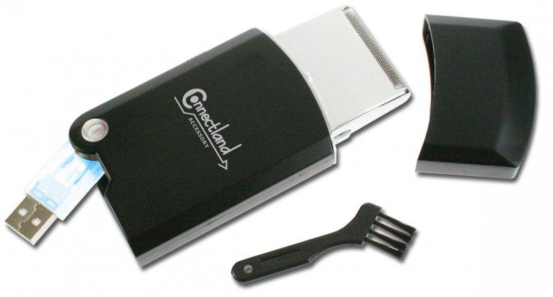 USB holicí strojek