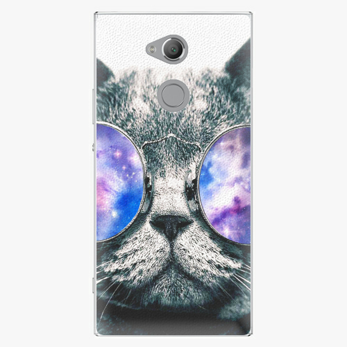 Plastový kryt iSaprio - Galaxy Cat - Sony Xperia XA2 Ultra
