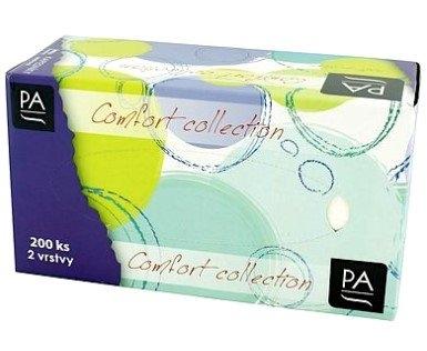 Papírové kapesníky BOX 200 ks 2-vrstvé