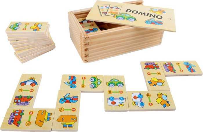 Small Foot Domino v boxu