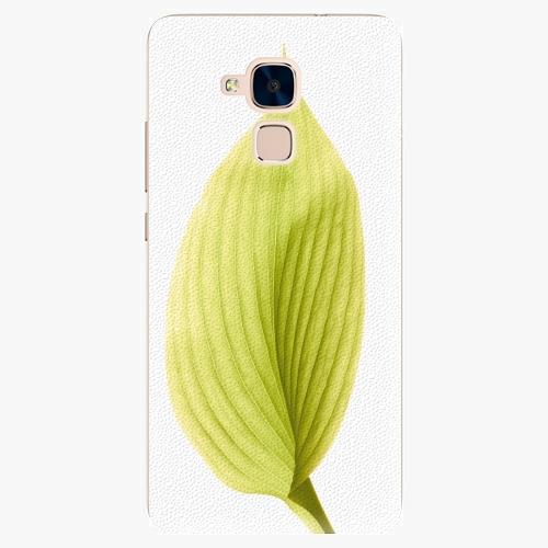 Plastový kryt iSaprio - Green Leaf - Huawei Honor 7 Lite