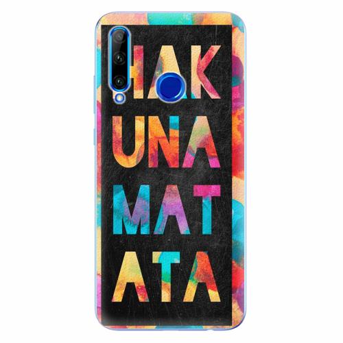 Silikonové pouzdro iSaprio - Hakuna Matata 01 - Huawei Honor 20 Lite