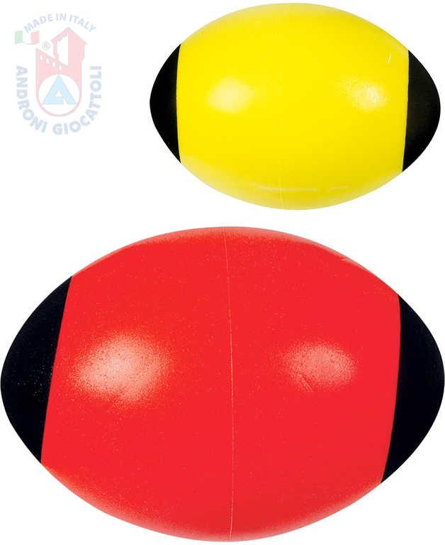 ANDRONI Soft dětský ragby míč 24cm americký fotbal různé barvy