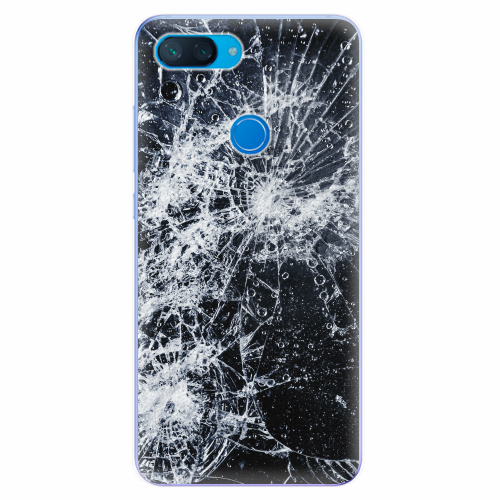 Silikonové pouzdro iSaprio - Cracked - Xiaomi Mi 8 Lite