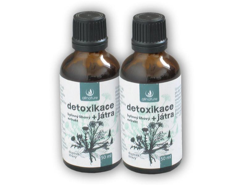 2x Detoxikace bylinný lihový extrakt 50ml