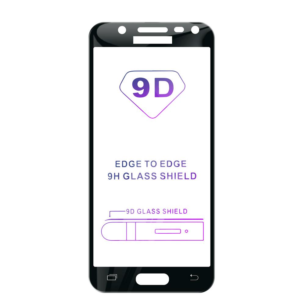 Tvrzené sklo iSaprio 9D BLACK pro Samsung Galaxy J7 2017