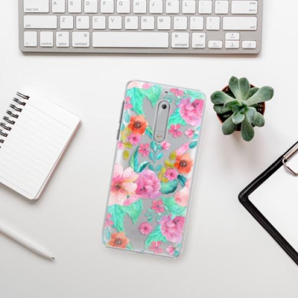 Plastové pouzdro iSaprio - Flower Pattern 01 - Nokia 5