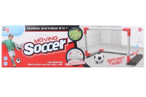 Fotbalová branka na baterie