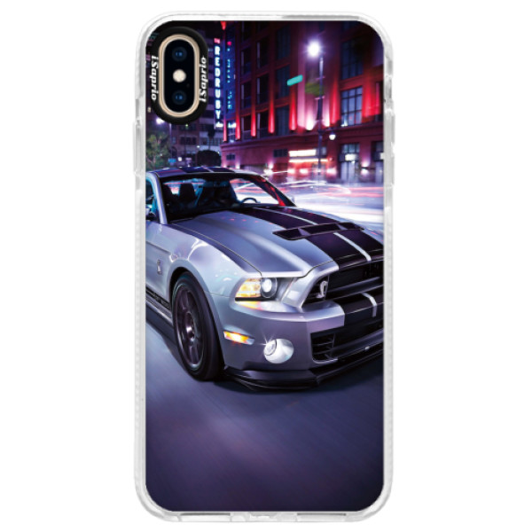 Silikonové pouzdro Bumper iSaprio - Mustang - iPhone XS Max
