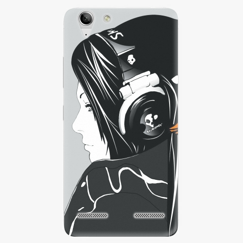 Plastový kryt iSaprio - Headphones - Lenovo Vibe K5