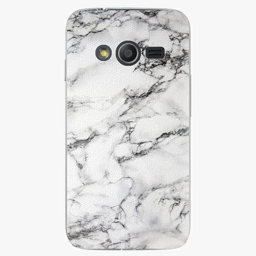 Plastový kryt iSaprio - White Marble 01 - Samsung Galaxy Trend 2 Lite