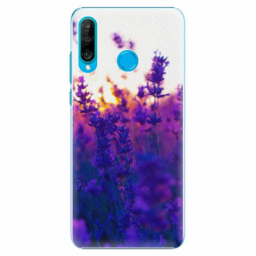 Plastový kryt iSaprio - Lavender Field - Huawei P30 Lite