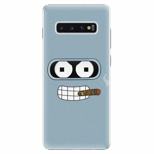 Plastový kryt iSaprio - Bender - Samsung Galaxy S10+