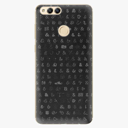 Plastový kryt iSaprio - Ampersand 01 - Huawei Honor 7X