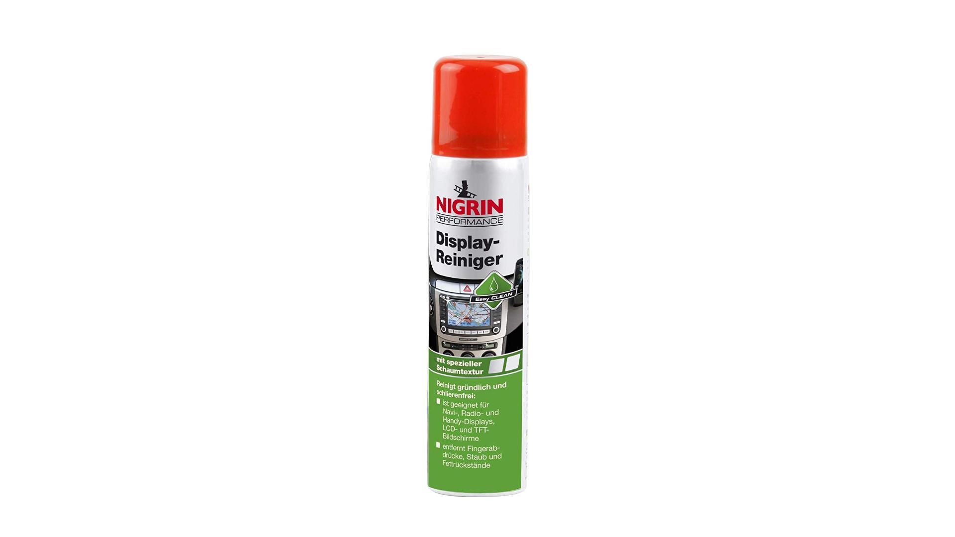 Nigrin Přípravek na čištění displejů palubní desky 75ml