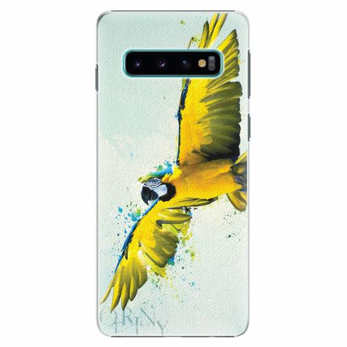 Plastový kryt iSaprio - Born to Fly - Samsung Galaxy S10
