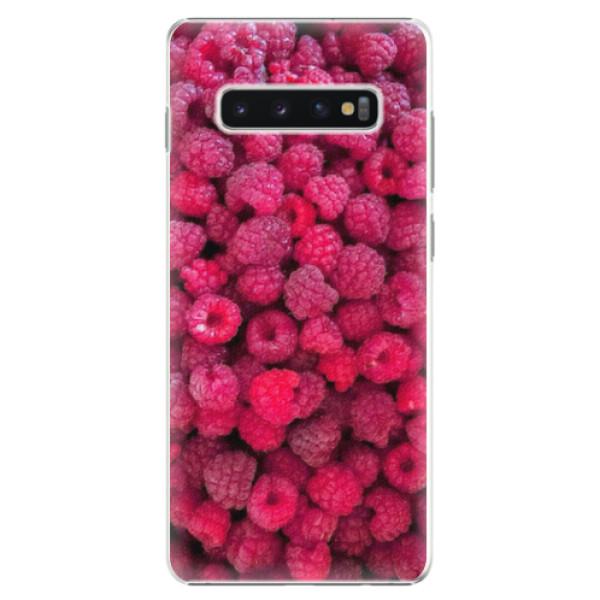 Plastové pouzdro iSaprio - Raspberry - Samsung Galaxy S10+