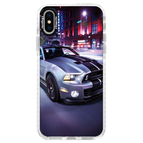 Silikonové pouzdro Bumper iSaprio - Mustang - iPhone X