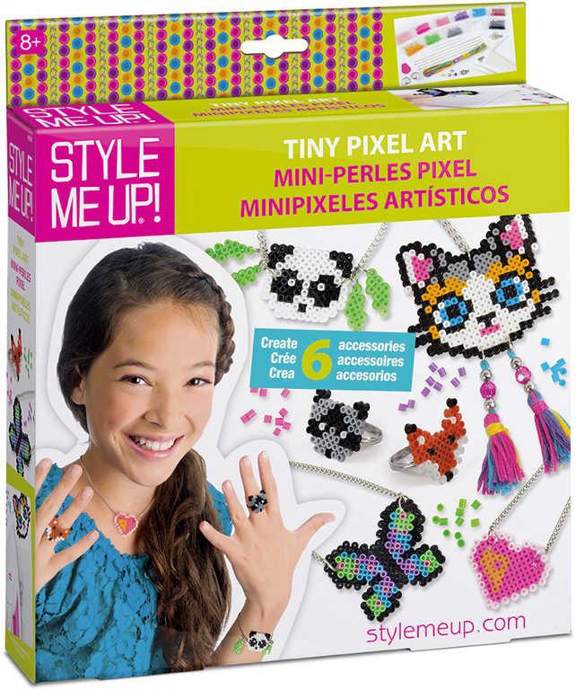 SMU Pixely výroba přívěsků a bižuterie kreativní holčičí set Style Me Up