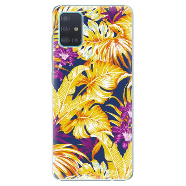 Plastové pouzdro iSaprio - Tropical Orange 04 - Samsung Galaxy A51