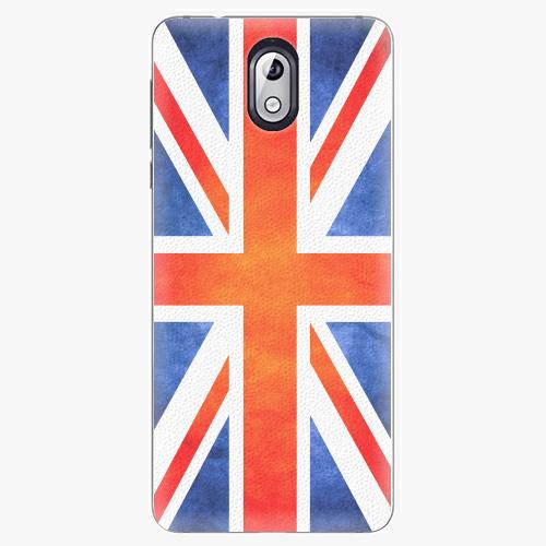 Plastový kryt iSaprio - UK Flag - Nokia 3.1