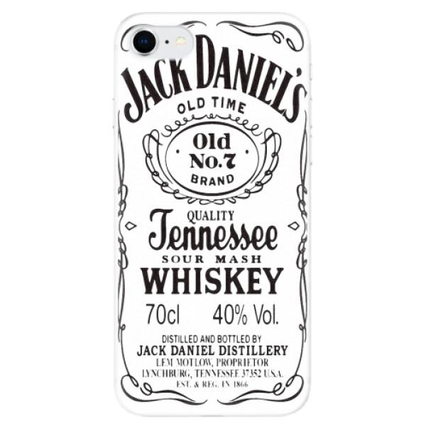 Odolné silikonové pouzdro iSaprio - Jack White - iPhone SE 2020