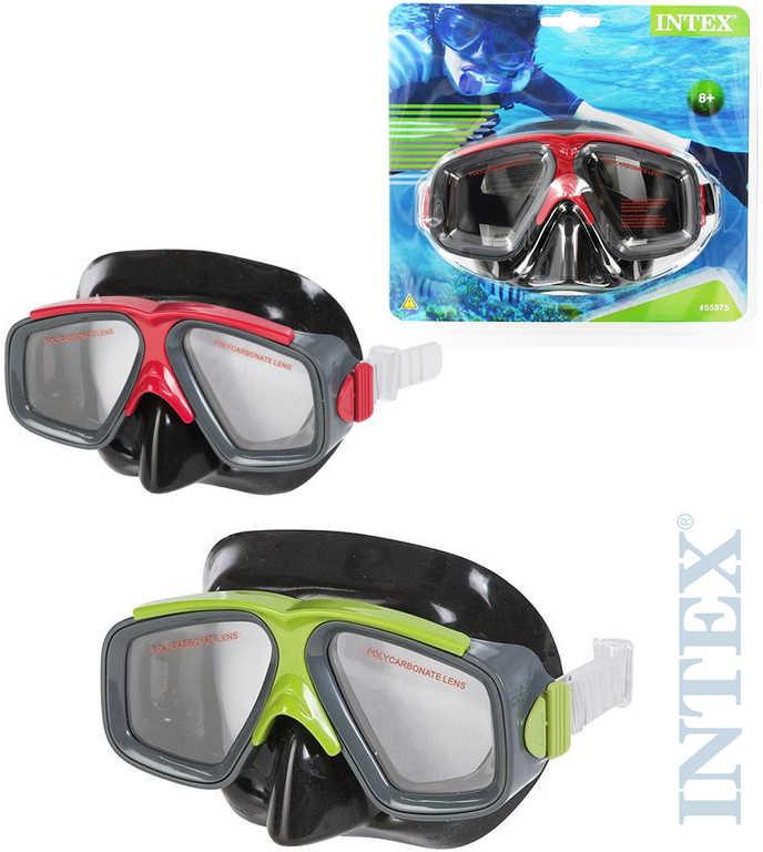 INTEX Brýle dětské potápěčské Surf do vody na potápění 2 barvy na kartě 55975