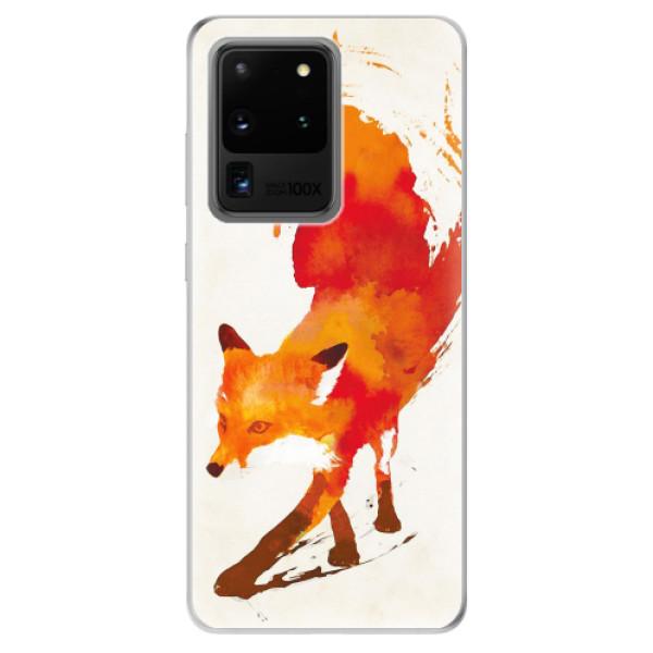 Odolné silikonové pouzdro iSaprio - Fast Fox - Samsung Galaxy S20 Ultra