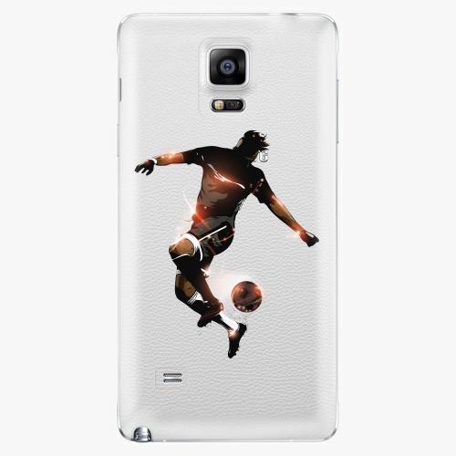 Plastový kryt iSaprio - Fotball 01 - Samsung Galaxy Note 4