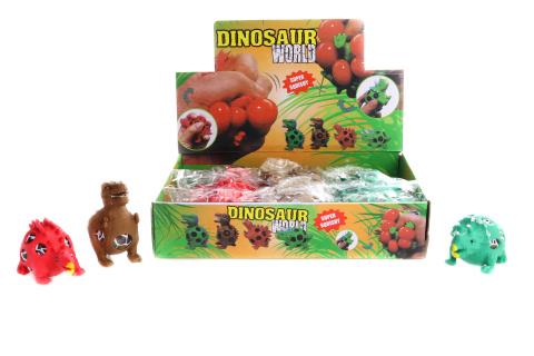 Antistresový míček ve tvaru dinosaura