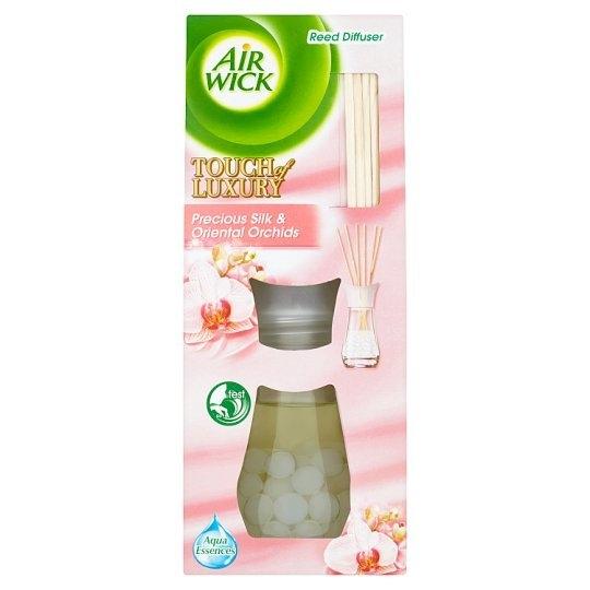 Airwick Touch of Luxury Vonné tyčinky Vzácné hedvábí a orchideje 25 ml