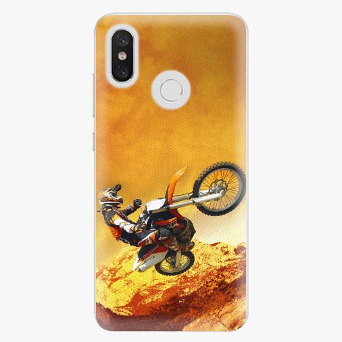 Plastový kryt iSaprio - Motocross - Xiaomi Mi 8