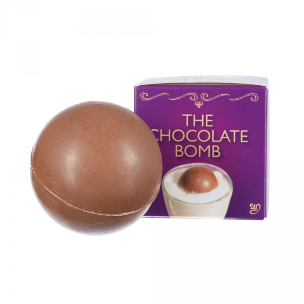 Čokoládová bomba do mléka s marshmallow