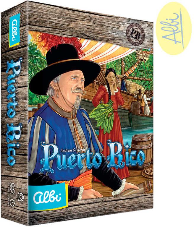 ALBI HRA Puerto Rico 2.vydání + 2x rozšíření *SPOLEČENSKÉ HRY*