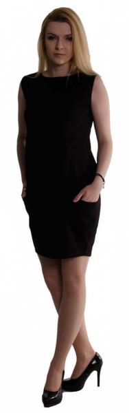 Be MaaMaa Těhotenské letní šaty s kapsami