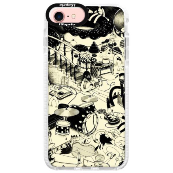 Silikonové pouzdro Bumper iSaprio - Underground - iPhone 7